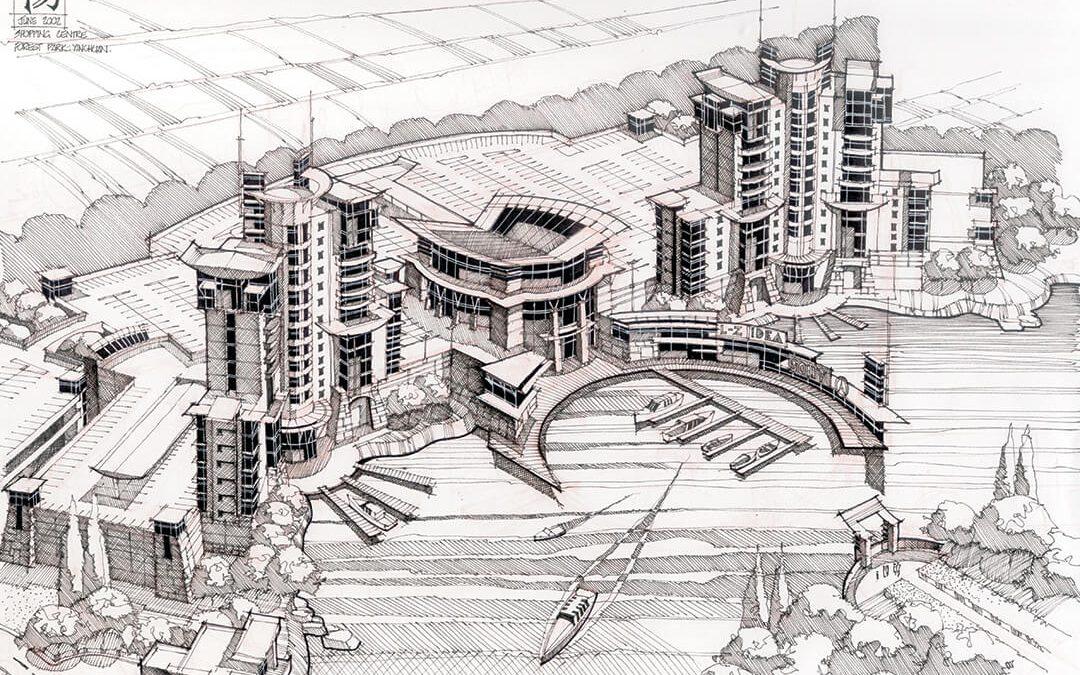 Sketch Yinchuan – JL